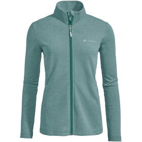 VAUDE Valua Fleece Jas Dames, nickel green